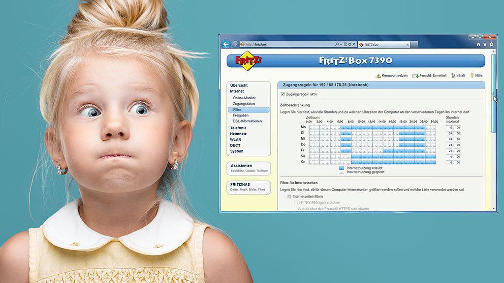 Tipps rund um die Kindersicherung – 5 Tipps, was man mit verschiedenen Einstellungen der FRITZ!Box machen kann